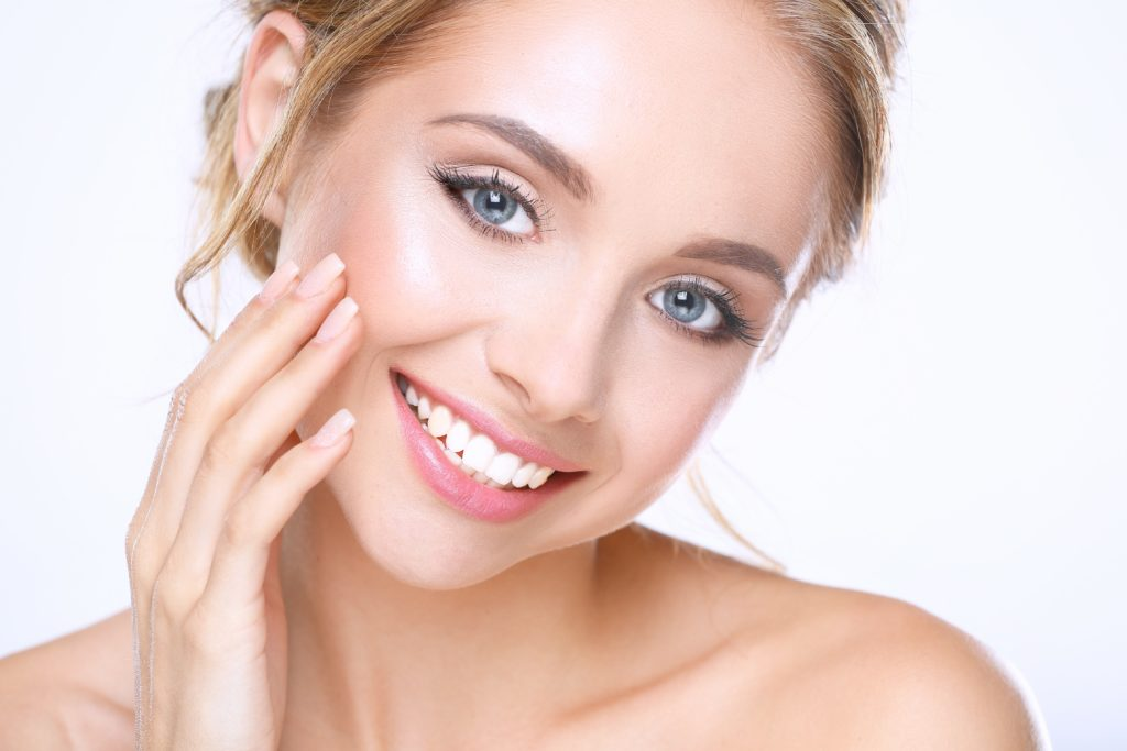 Use Cocoàge Cosmetics, a brand whose gold-infused skincare products will brighten the skin.