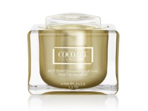 Cocoage Cosmetics Hot Temp Stimulating 24K Gold Heat Therapy Mask
