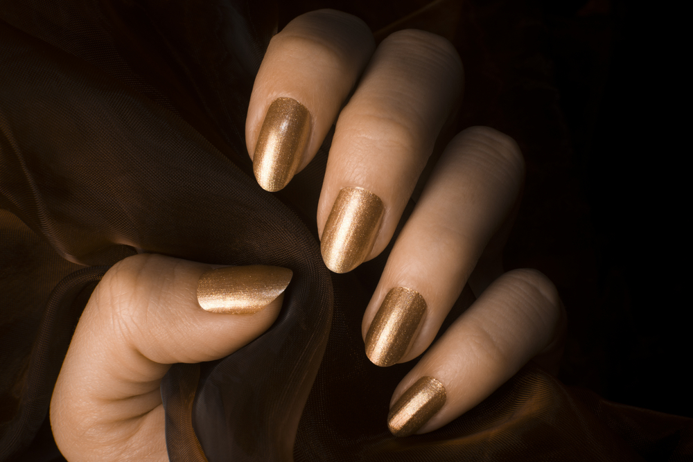 Pamper your hands and nails with gold skincare